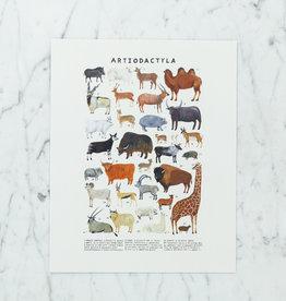 """Kelzuki Artiodactyla Print by Kelzuki - 8 x 10"""""""