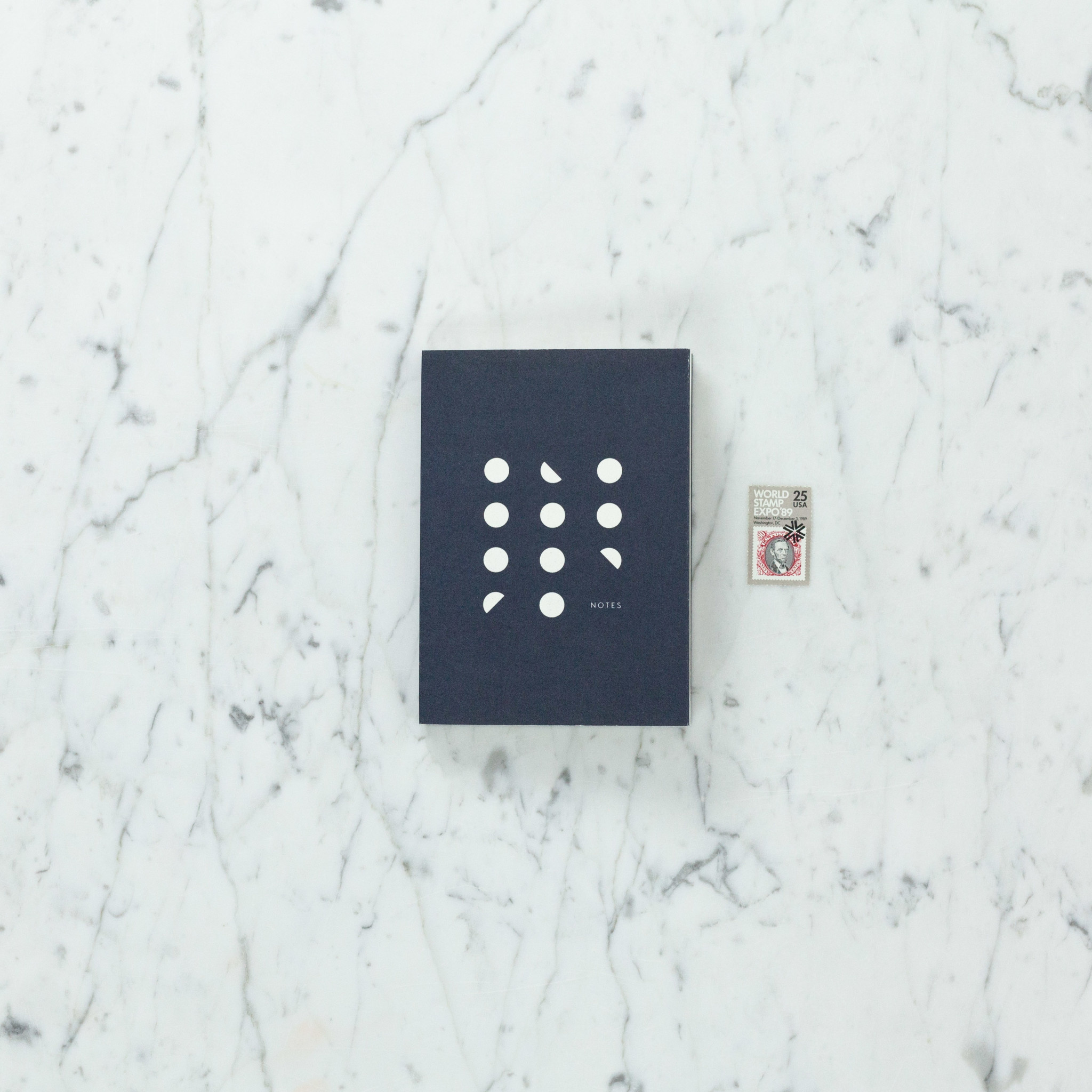 Kartotek Danish Pocket Moon Phase Notebook - Dot Grid