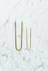 Positive Times Straight Brass Hair Fork - Large