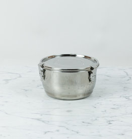 """Stainless Steel Airtight Storage Container - 5.5"""""""