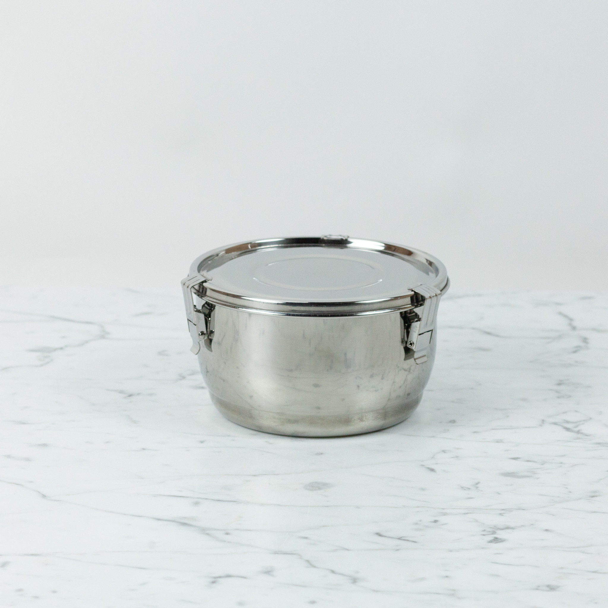 Stainless Steel Airtight Storage Container - 5.5""