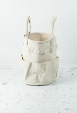 Canvas Bucket Bag Tote with Handles