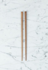Tetoca Chopsticks - Mandarine Wood with Beeswax Finish