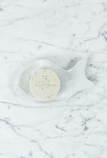 "Hasami White Porcelain Fish Dish - 6 3/4"""