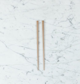 Tetoca Chopsticks - Prune Wood with Beeswax Finish