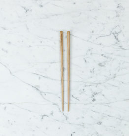 Tetoca Chopsticks - Chataigne Wood with Beeswax Finish