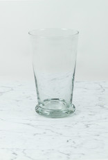 Henry Dean Tall Tapered Glass Vase with Thick Base
