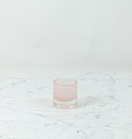 Henry Dean Mary Votive Holder - Peach - Cloudy Pink - 2 1/2