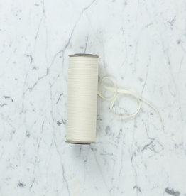 "Natural Cotton Ribbon Sold Per Yard - 1/4"" Wide"