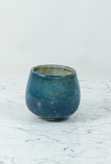 Henry Dean Extra Small Clovis Vessel - Lanai - Blue Green and Purple - 4.75""