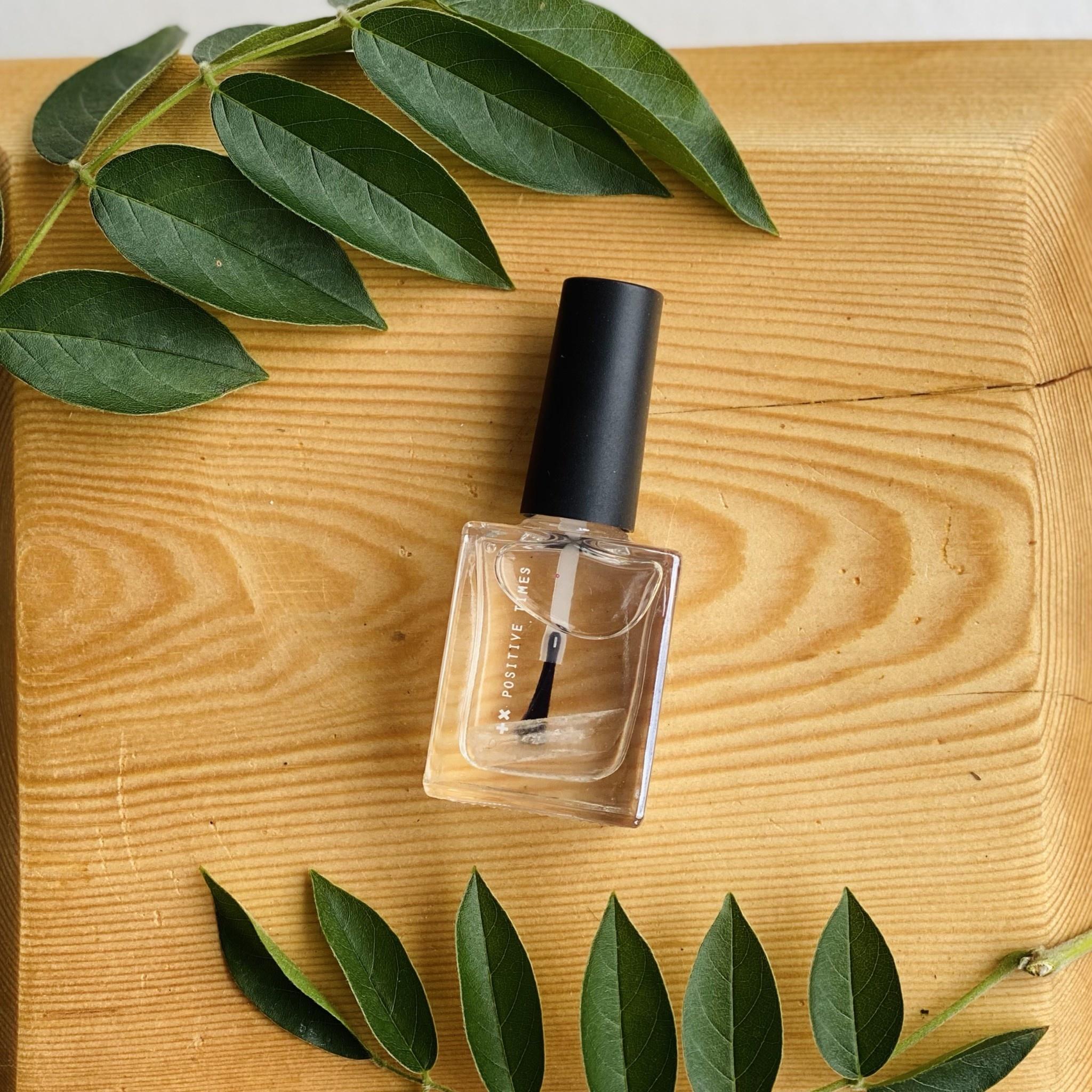 Positive Times High Vibe Nail Polish - Clear Quartz