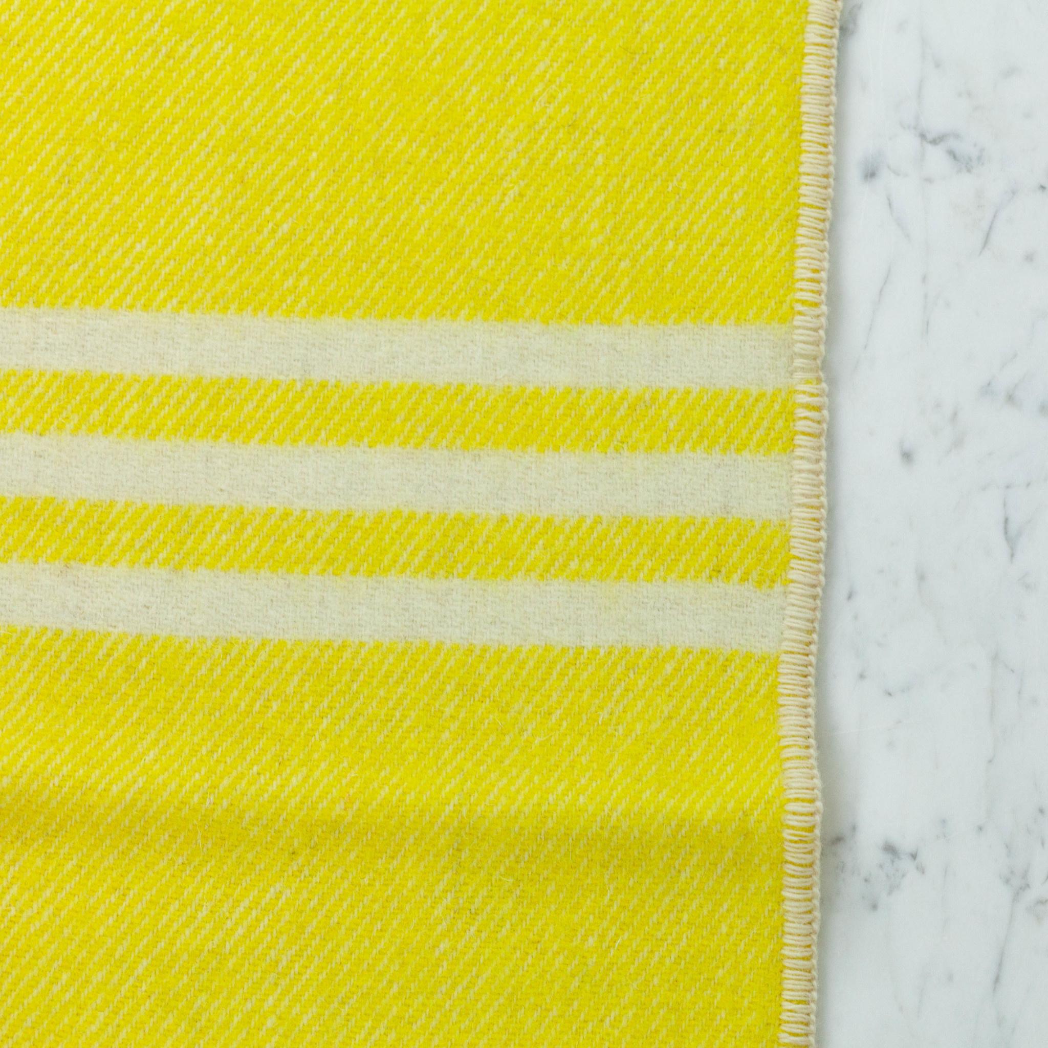 "MacAusland MacAusland Wool Lap Blanket - Yellow Tweed - 50 x 60"""