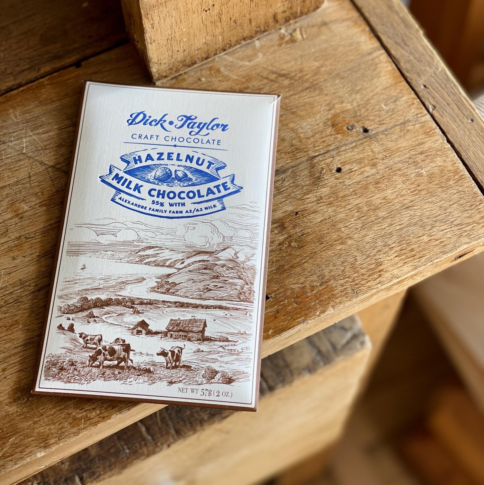 Dick Taylor Chocolate Dick Taylor Craft Chocolate - Hazelnut Milk Chocolate