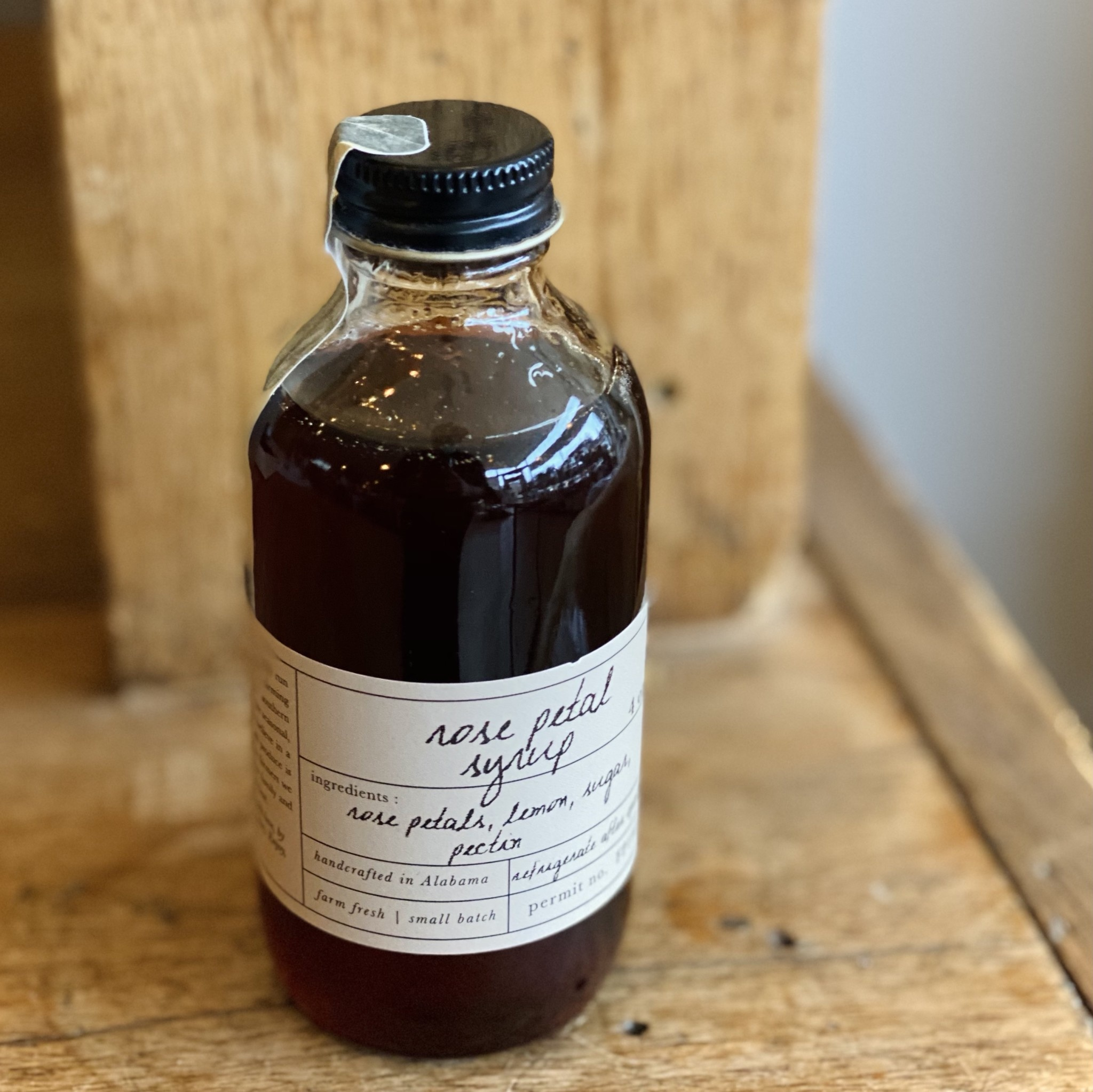Stone Hollow Farmstead Rose Petal Syrup