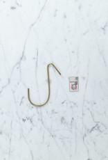 """Slim Brass J Hook - Medium - 4.5"""""""
