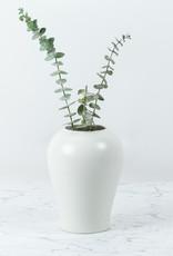 "Jicon Plump Porcelain Vase - 7.5"""
