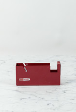 Large Desktop Tape Dispenser - Red