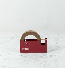 Large Desktop Tape Dispenser - Red