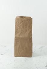 "Japanese Stitched Brown Paper Bag - Medium - 9 x 9 x 20"""