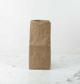 Japanese Stitched Brown Paper Bag - Medium - 9 x 9 x 20""