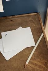 Pomegranate Press Letterpress Card and Envelope - Diver