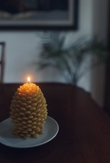 Old Mill Candles Jumbo Beeswax Pinecone