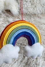 Craftspring Hand Felted Over The Rainbow Wall Hanging - Medium - 9""