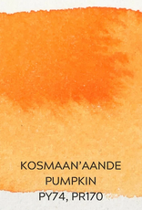 Beam Paints Natural Pigment Handmade Watercolor Paintstones - Kosmaan'aande Pumpkin - Individually Wrapped