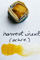 Beam Paints Natural Pigment Handmade Watercolor Paintstones - Harvest Wheat Ochre - Individually Wrapped