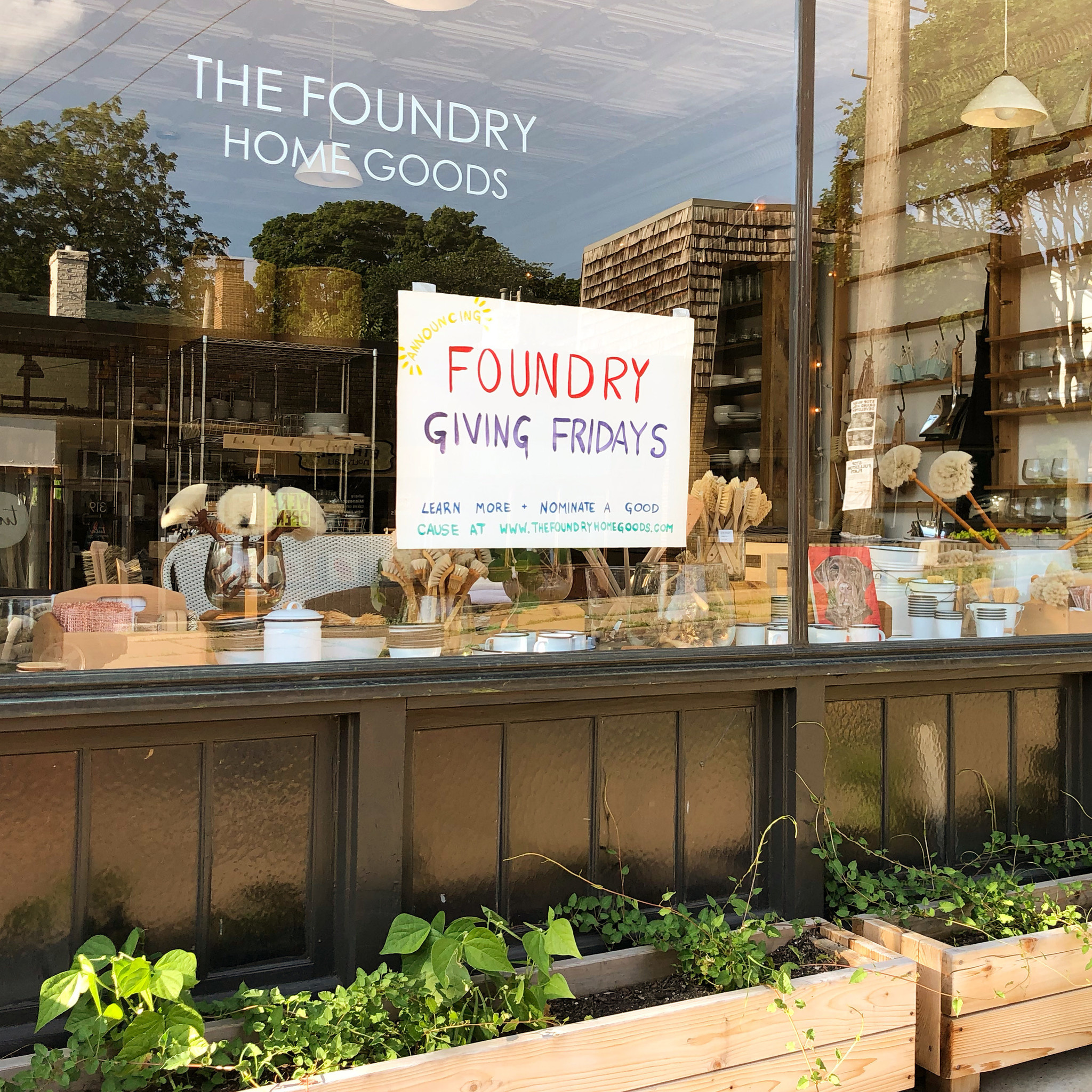 Introducing Foundry Giving Fridays!