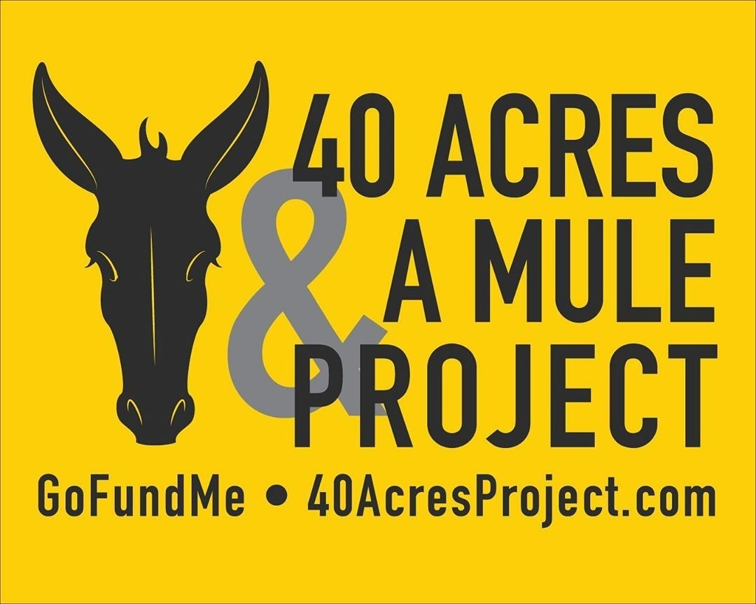 8/14/2020 Foundry Giving Friday: The 40 Acres & A Mule Project