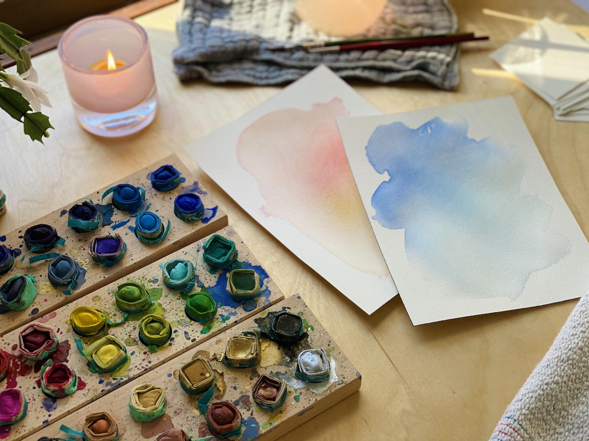 Watercolor 101: Exploring Meditative Color For Beginners