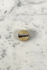 MacPherson's Brass Round Double Hole Pencil Sharpener