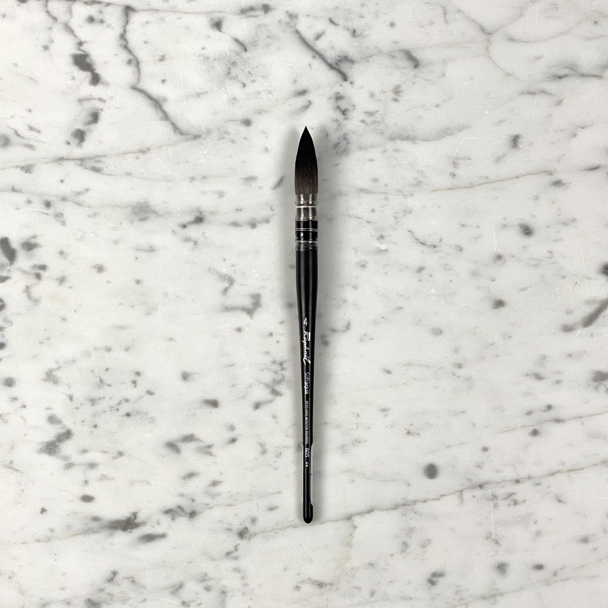 MacPherson's Softaqua Watercolor Paintbrush - Size 4 Quill