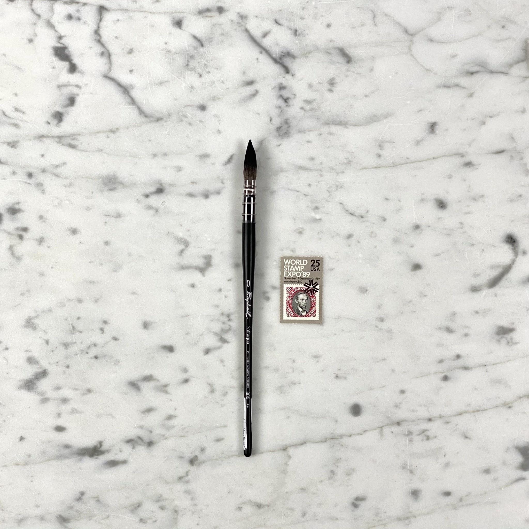 MacPherson's Softaqua Watercolor Paintbrush - Size 0 Quill