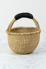 Kiddo Sized Grass Bolga Shopper Basket - 10""