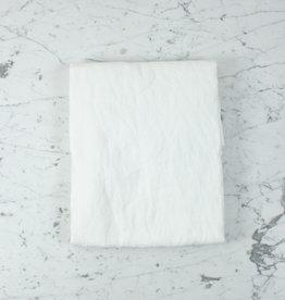 "Linen Flat Sheet - One Size - White - 104 x 110"""