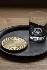 FUTAGAMI Futagami Brass Kobo Radiance Coaster - 4.5''
