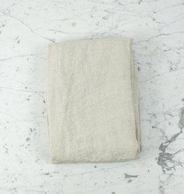 """Linen Flat Sheet - One Size - Natural - 104 x 110"""""""