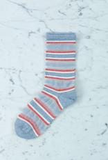 Royalties Paris Socks - Ruban Ribbon Azure