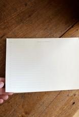 "Kartotek Simple Danish Daily Planner Pad - A5 - 6"" x 8"""