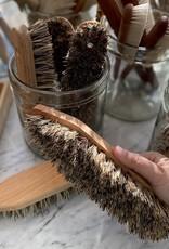 German Handleless Utility Scrubbing Brush with Point - Stiff Union Blend