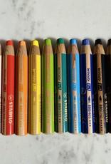 MacPherson's Stabilo Woody 3 in 1 Pencil - Orange