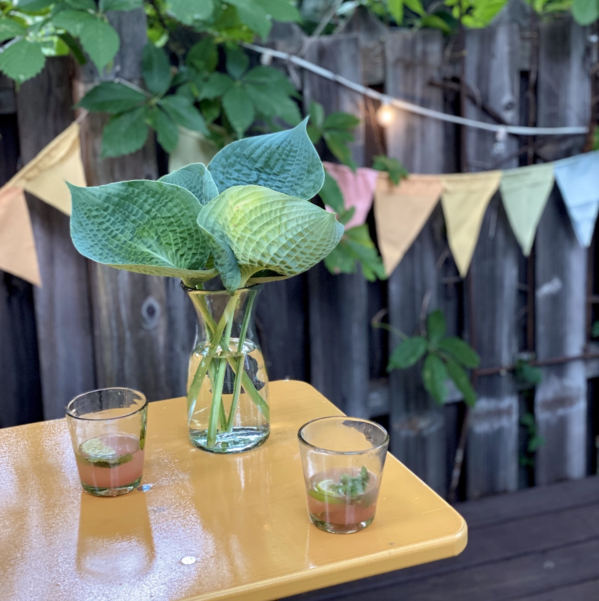 Beer Garden Table and 2 Bench Set