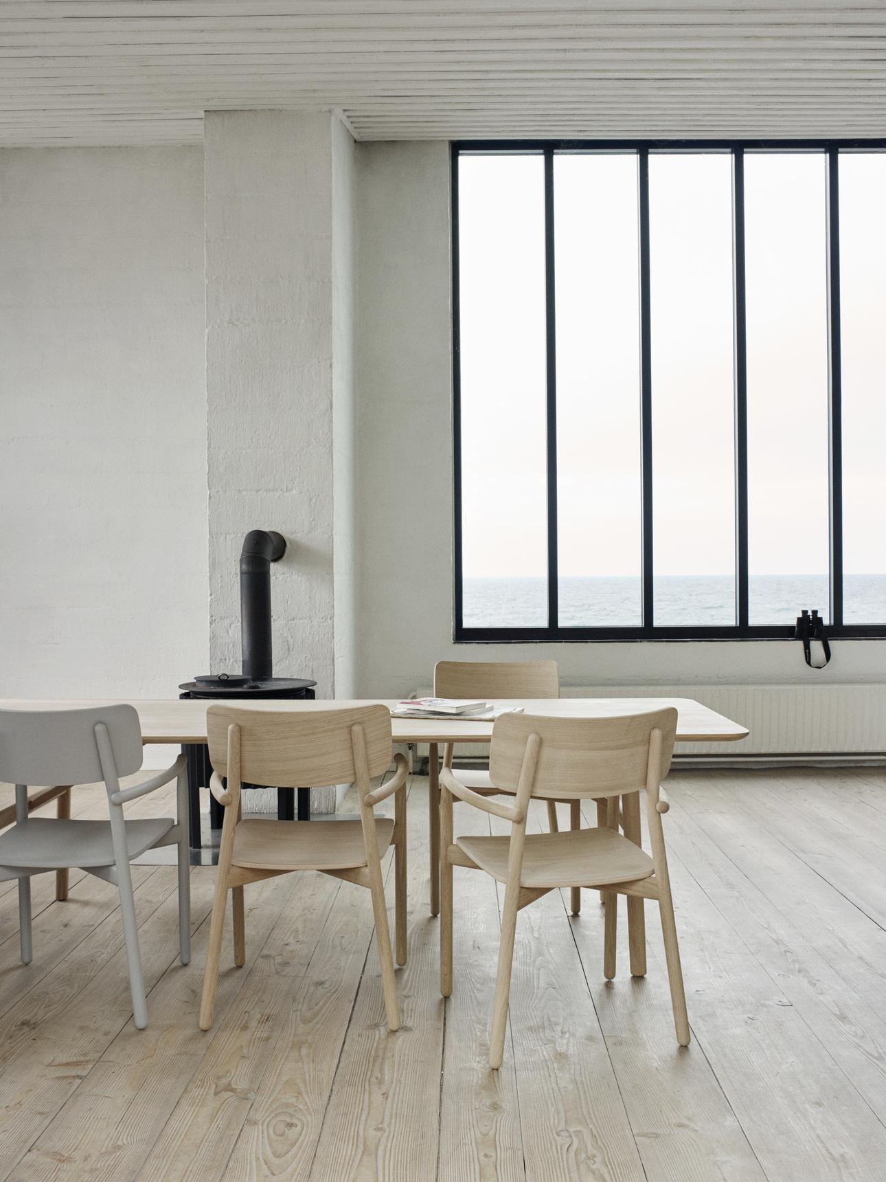 Skagerak Hven Long Dining Table - Untreated Oak