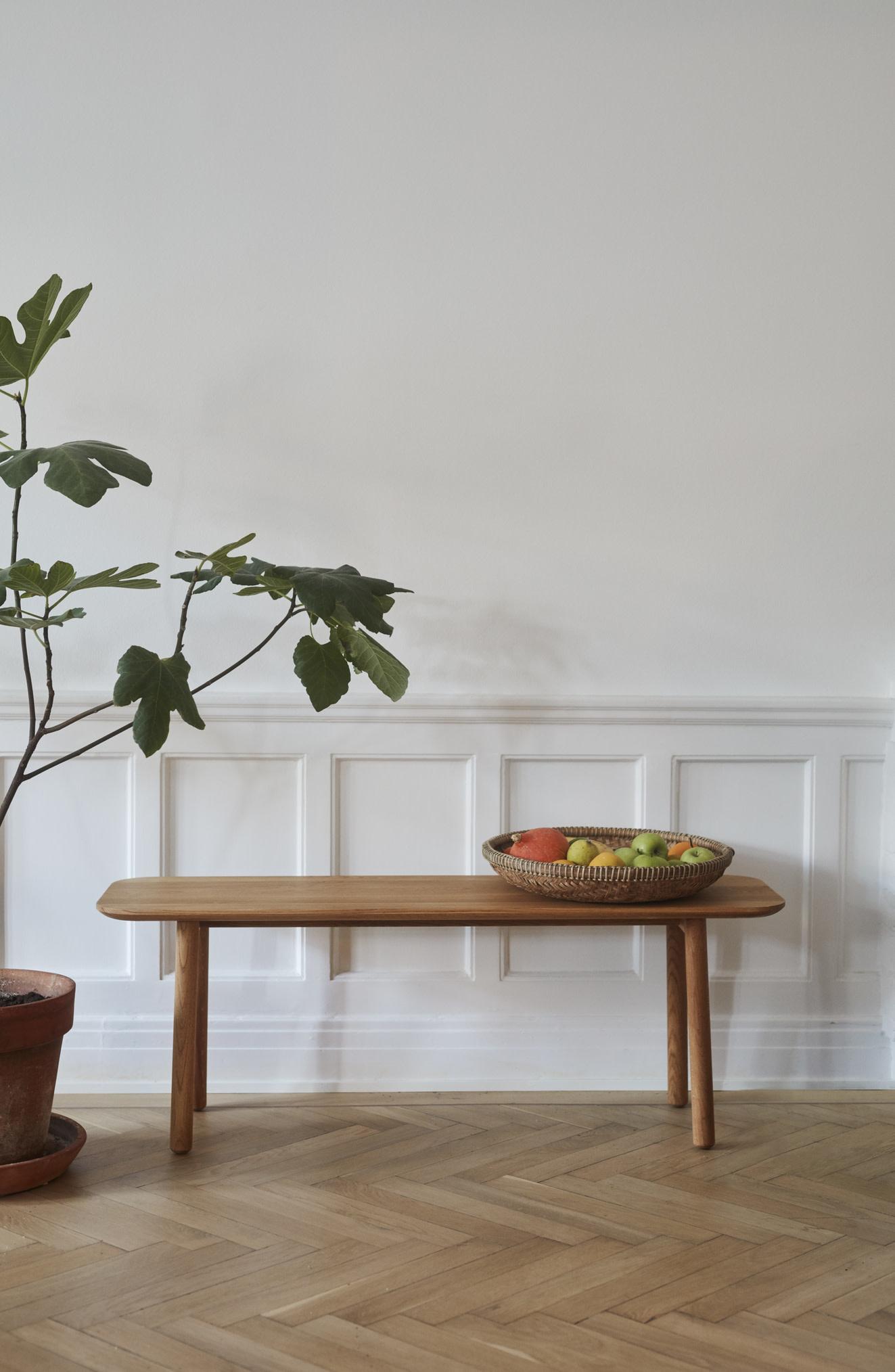 Skagerak Hven Bench - Untreated Oak