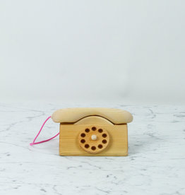 Grimm's Toys Wooden Play Telephone