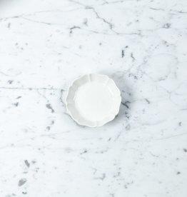 Jicon Octagonal Petal Dish - Extra Small - Ivory - 3.75''