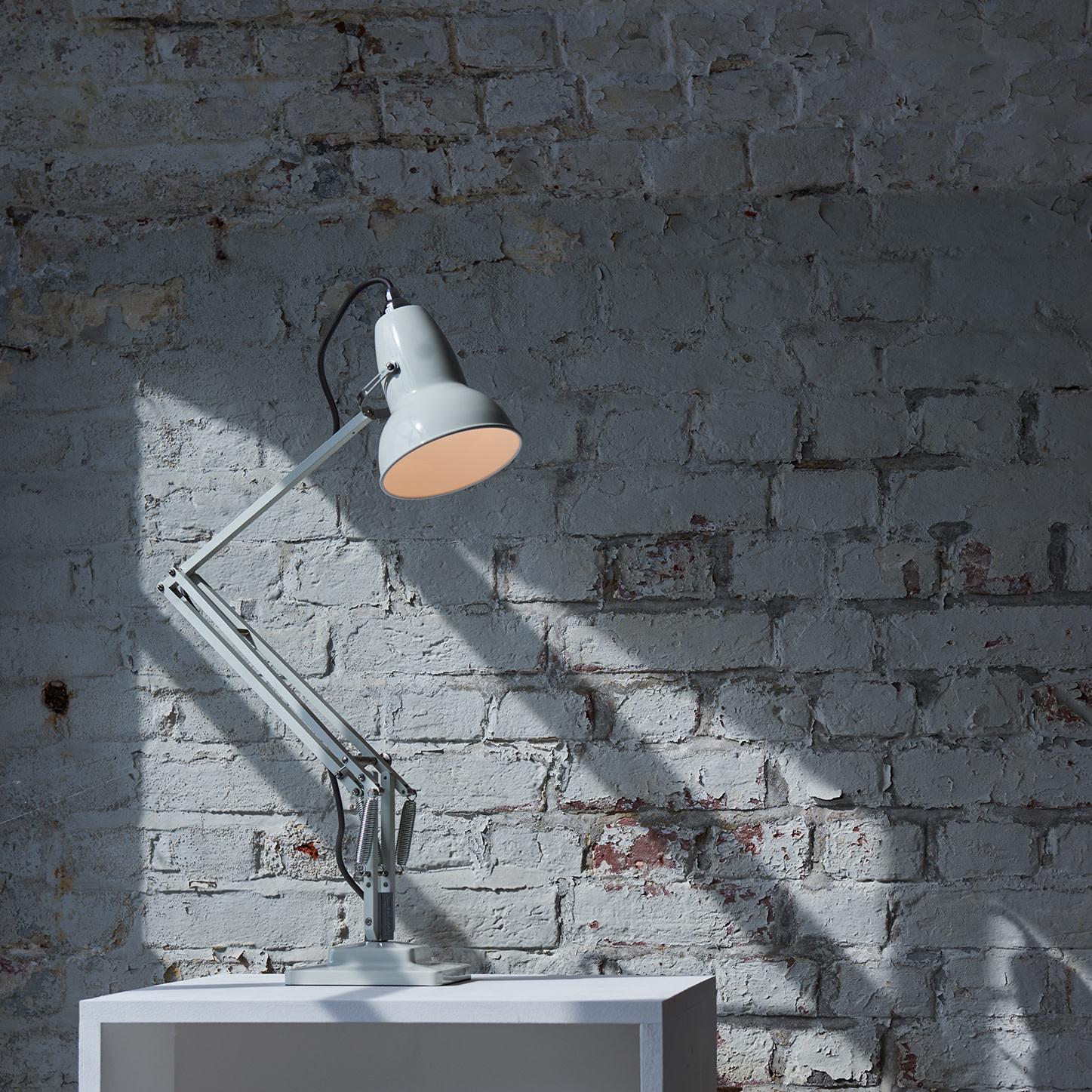 Anglepoise PREORDER Original 1227 Desk Lamp - Linen White with Chrome