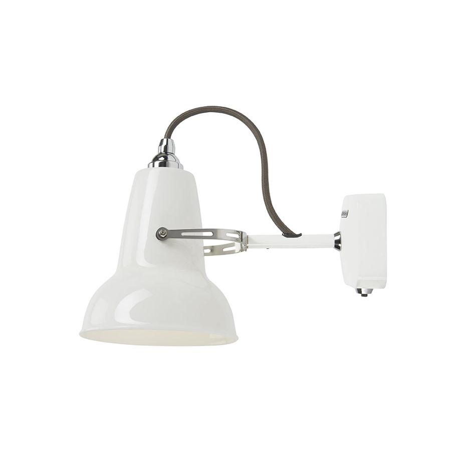 Anglepoise PREORDER Original 1227 Mini Wall Light Sconce - Ceramic White Shade